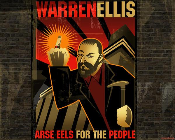 Warren Ellis Wallpaper by PaulSizer