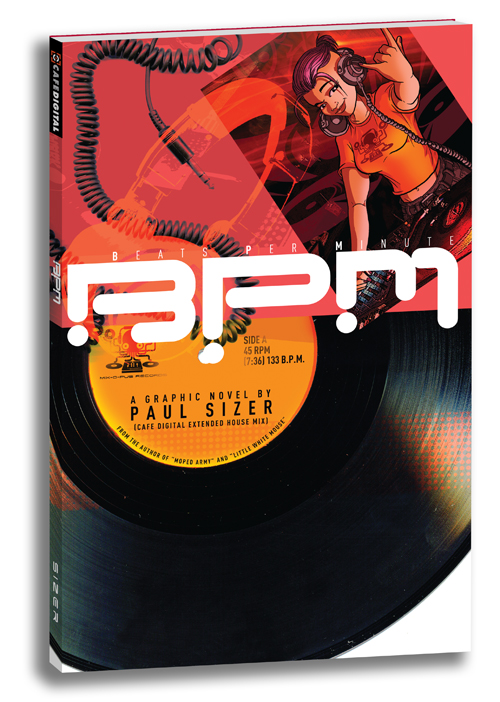 B.P.M. Graphic Novel by PaulSizer