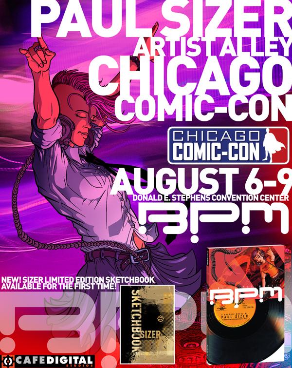 BPM Chicago Comic-Con by PaulSizer