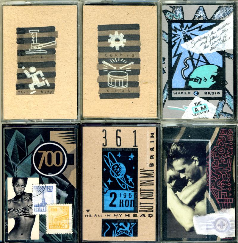 Sizer Cassette Art Set 3 by PaulSizer