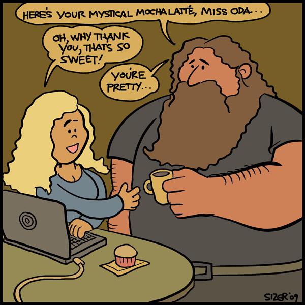 REMAKE: KARDAK Oda Cartoon by PaulSizer