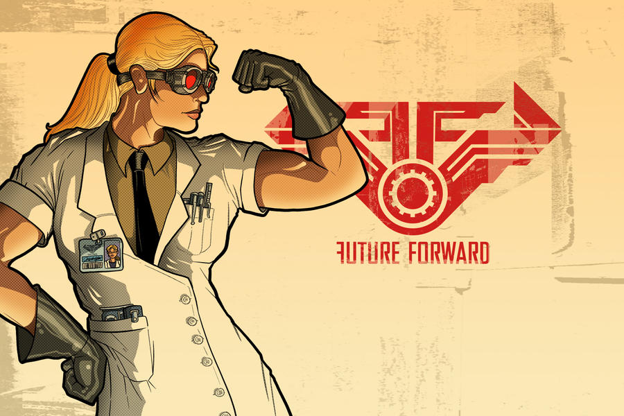 FUTURE FORWARD Wallpaper by PaulSizer