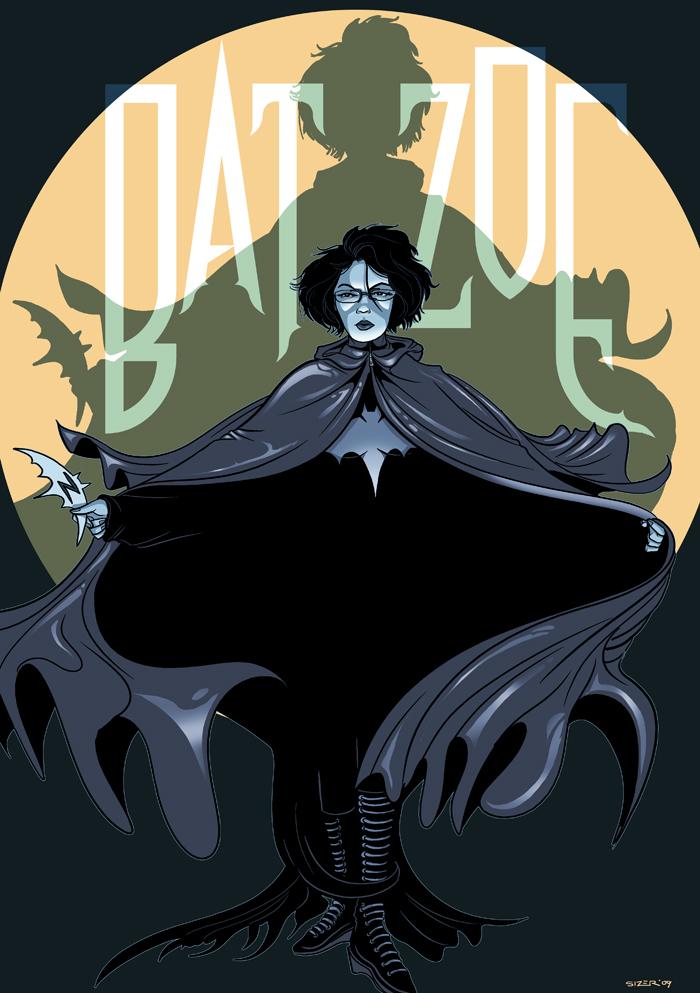 DRAW ME: Zoetica as BatGirl by PaulSizer