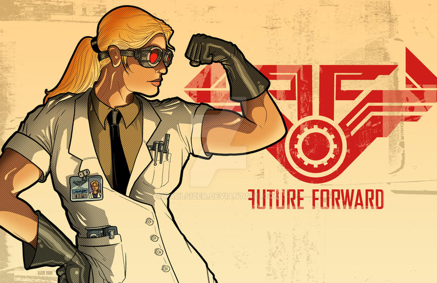 FUTURE FORWARD DevArt Print by PaulSizer