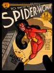 Spider Woman 1 Cover Remix