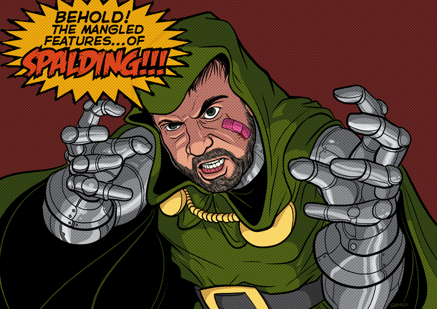 DRAW ME: DOOM Spalding by PaulSizer