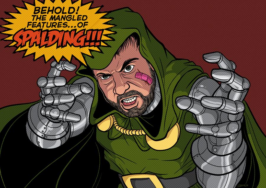 DRAW ME: DOOM Spalding by PaulSizer