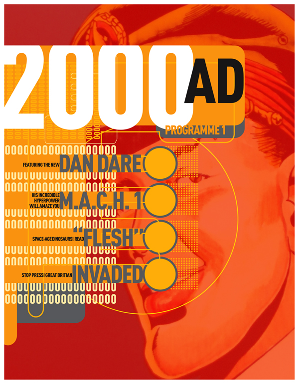 REMAKE: 2000AD Modern by PaulSizer