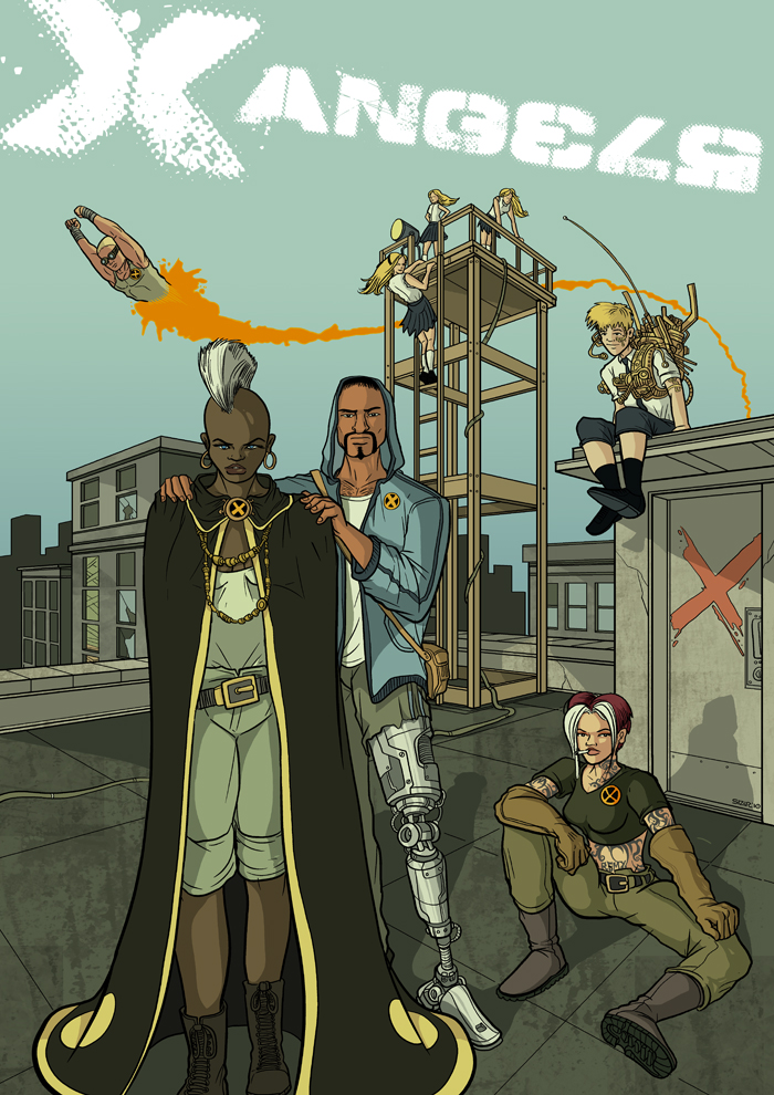REMAKE: X-Men Freakangels by PaulSizer