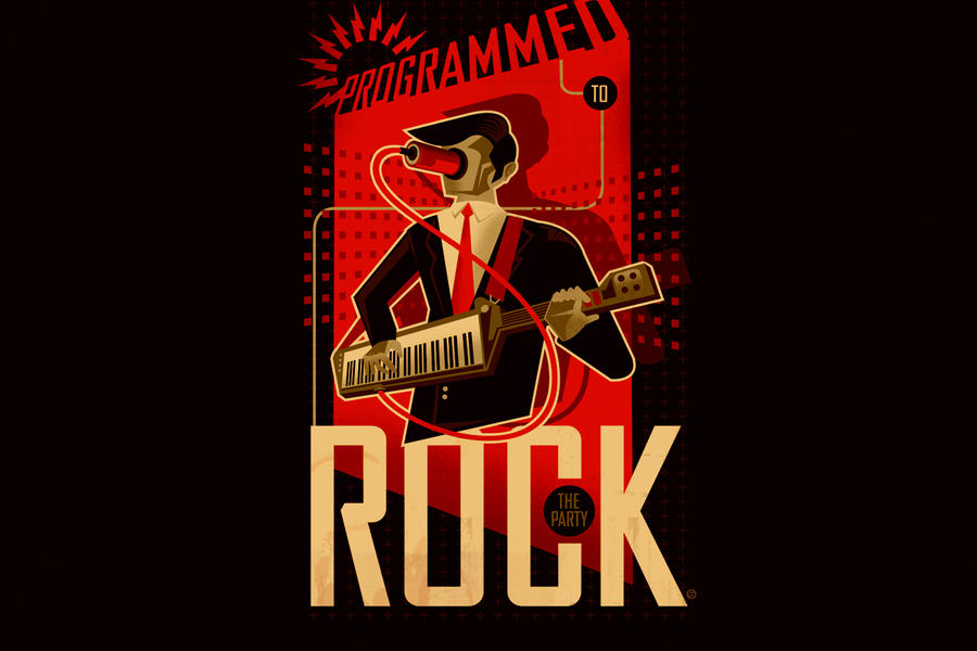 ROCK THE PARTY Desktop by PaulSizer