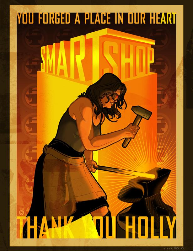 SMARTSHOP Poster 2010 by PaulSizer