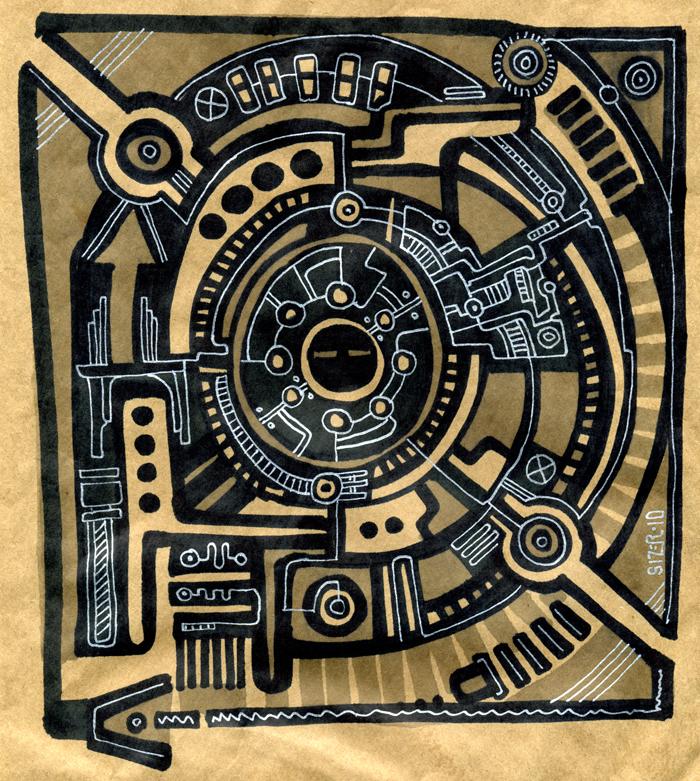 Circuit Board Bag Art by PaulSizer on DeviantArt
