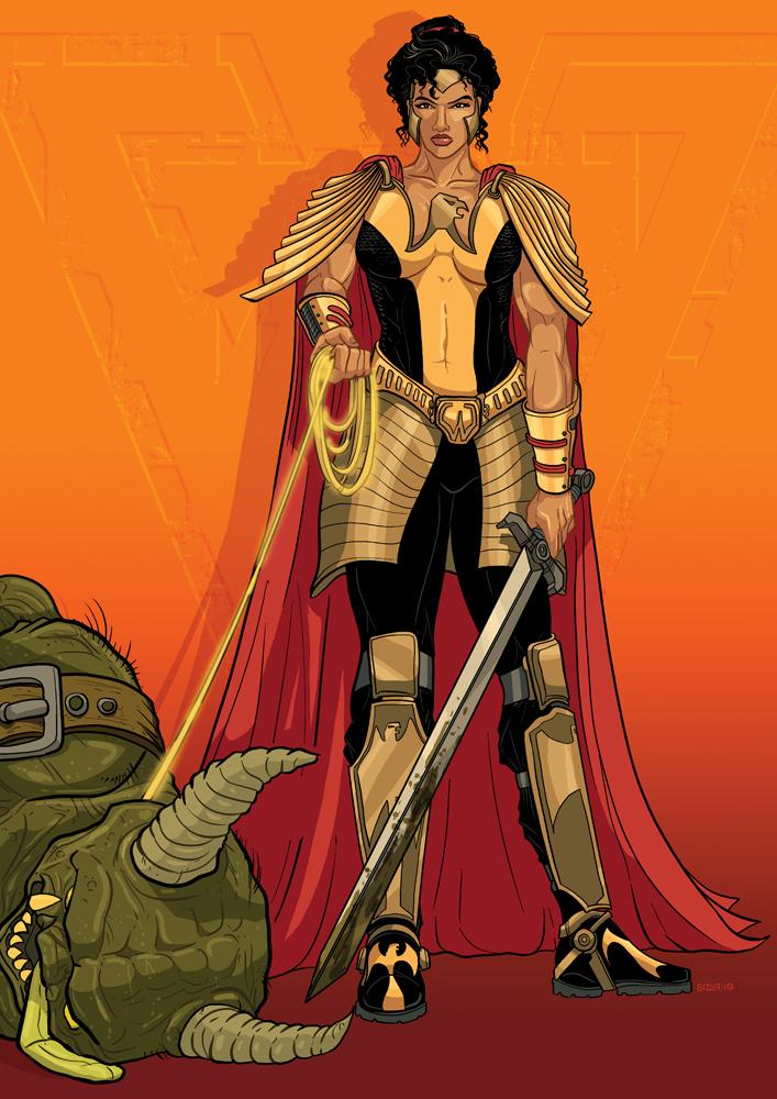 REMAKE: Wonder Woman by PaulSizer