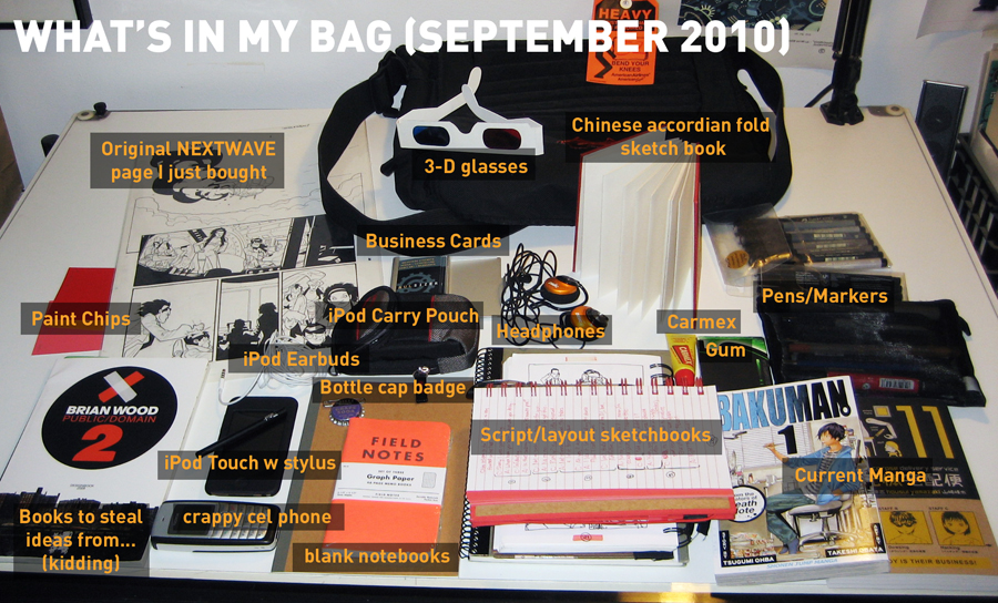 What's In My Bag SEPT 2010 by PaulSizer