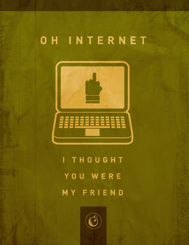 Oh Internet Poster
