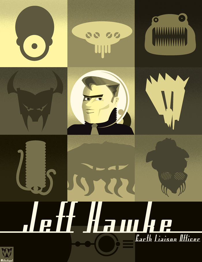 REMAKE: Jeff Hawke by PaulSizer