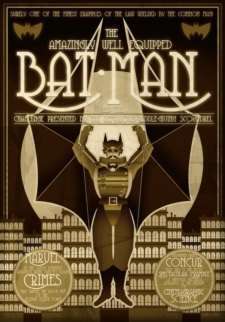 REMAKE: Steampunk Batman by PaulSizer