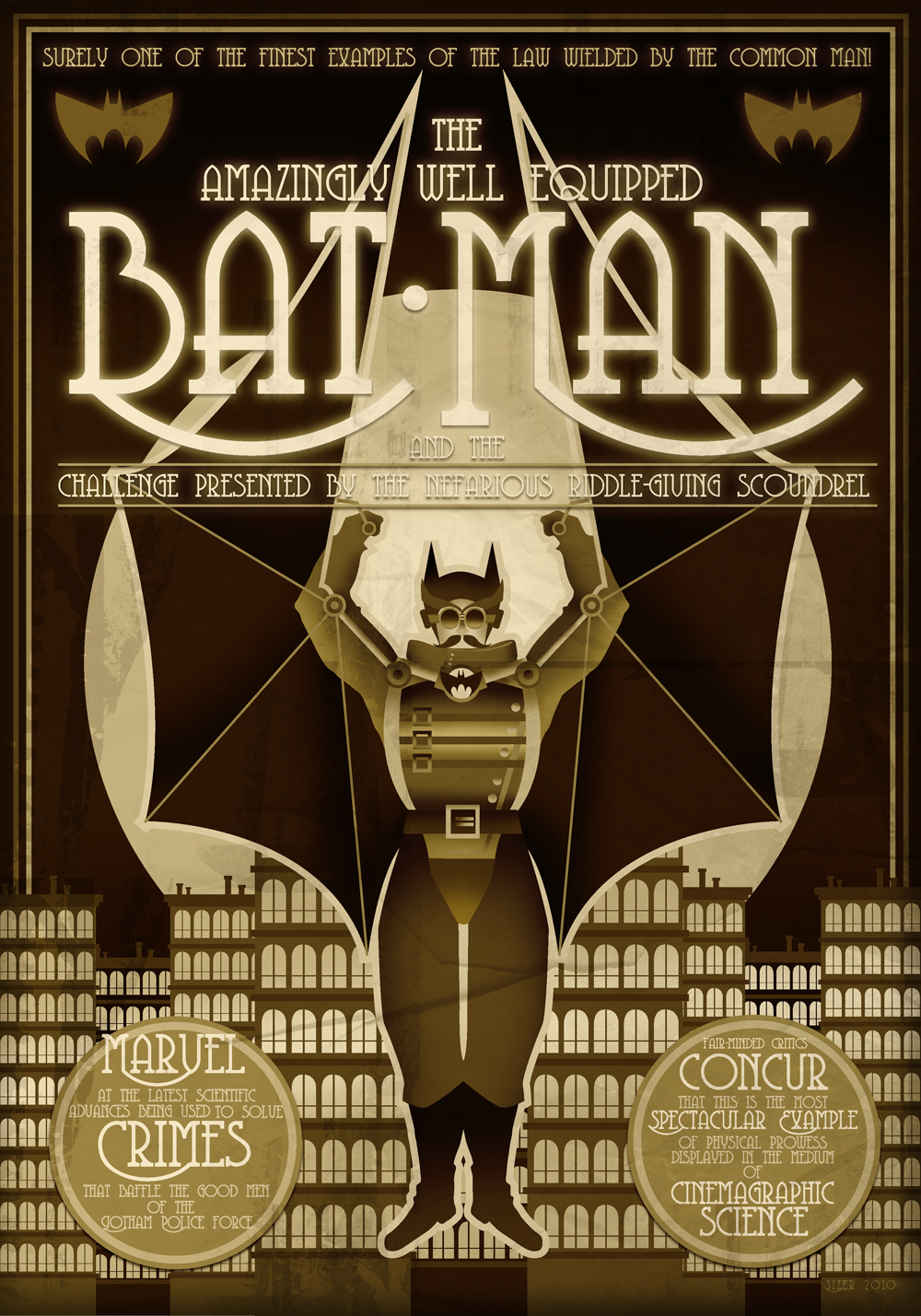 REMAKE: Steampunk Batman