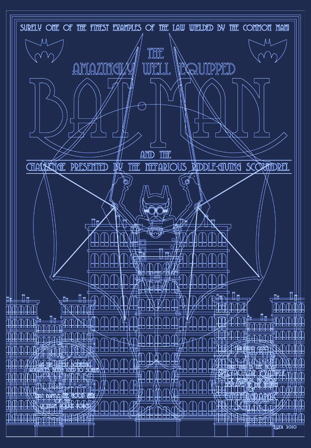 Steampunk Batman Vectors by PaulSizer