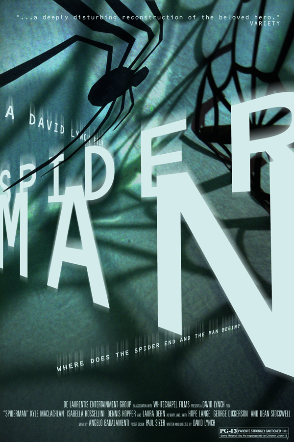 David Lynch's SPIDER MAN 1 by PaulSizer