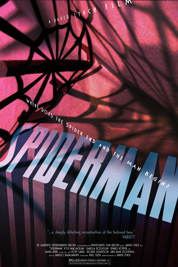 David Lynch's SPIDER MAN 2 by PaulSizer