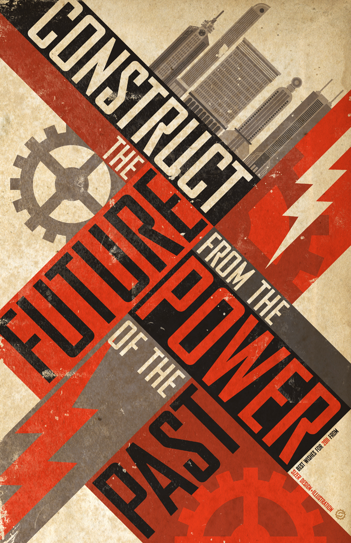 Construct The Future Poster by PaulSizer