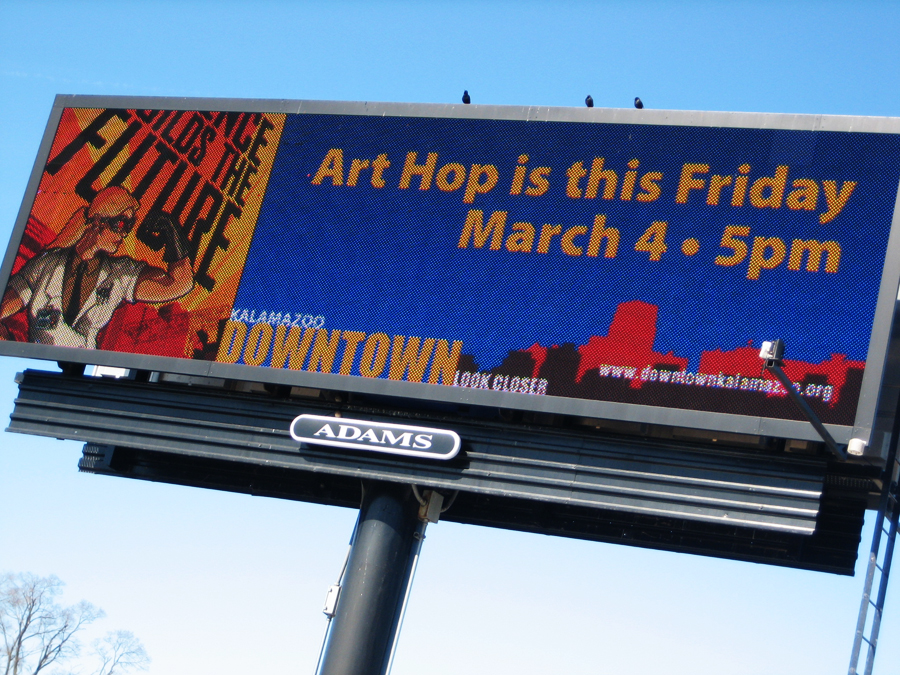 Sizer ART HOP Billboard by PaulSizer