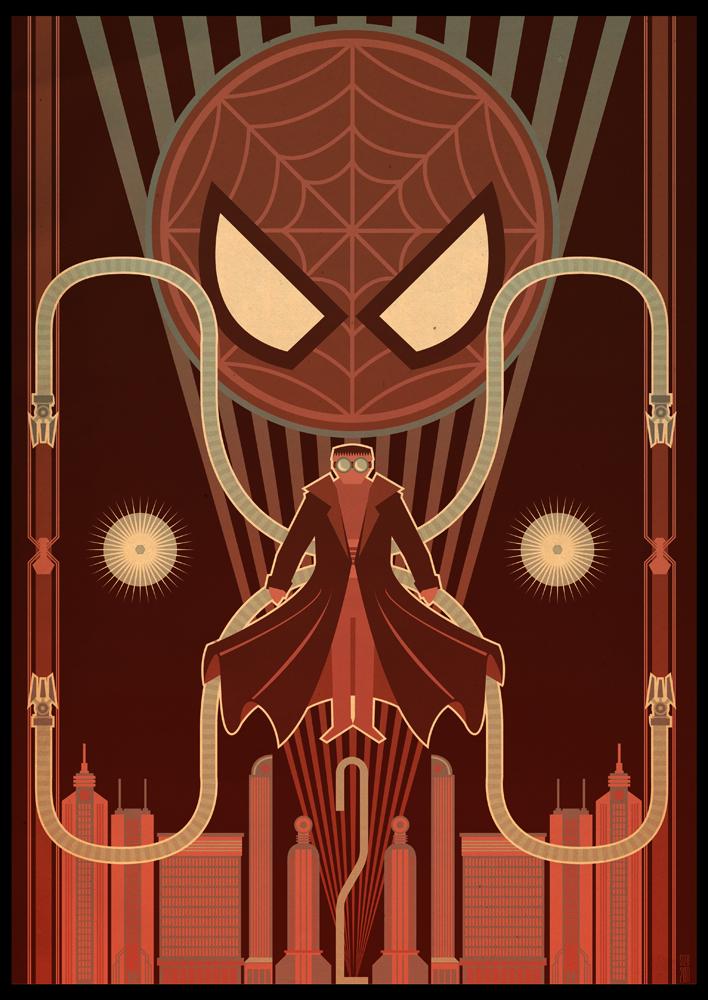 spider man 2 deco poster by paulsizer on deviantart. Black Bedroom Furniture Sets. Home Design Ideas