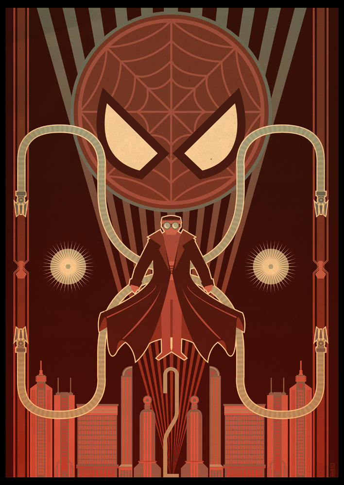 Spider-Man 2 Deco Poster