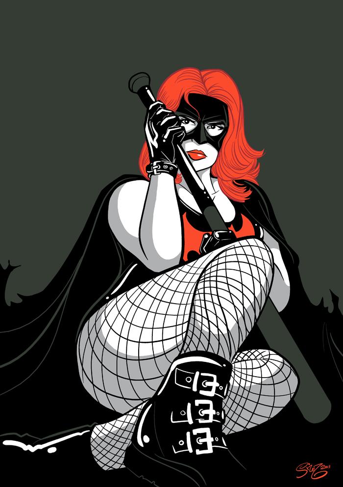 DRAW ME: Batgirl Dextra by PaulSizer