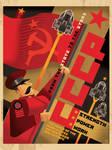SOLAR THEATRE Russian Poster