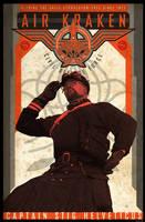 Air Kraken Defense Force Poster by PaulSizer