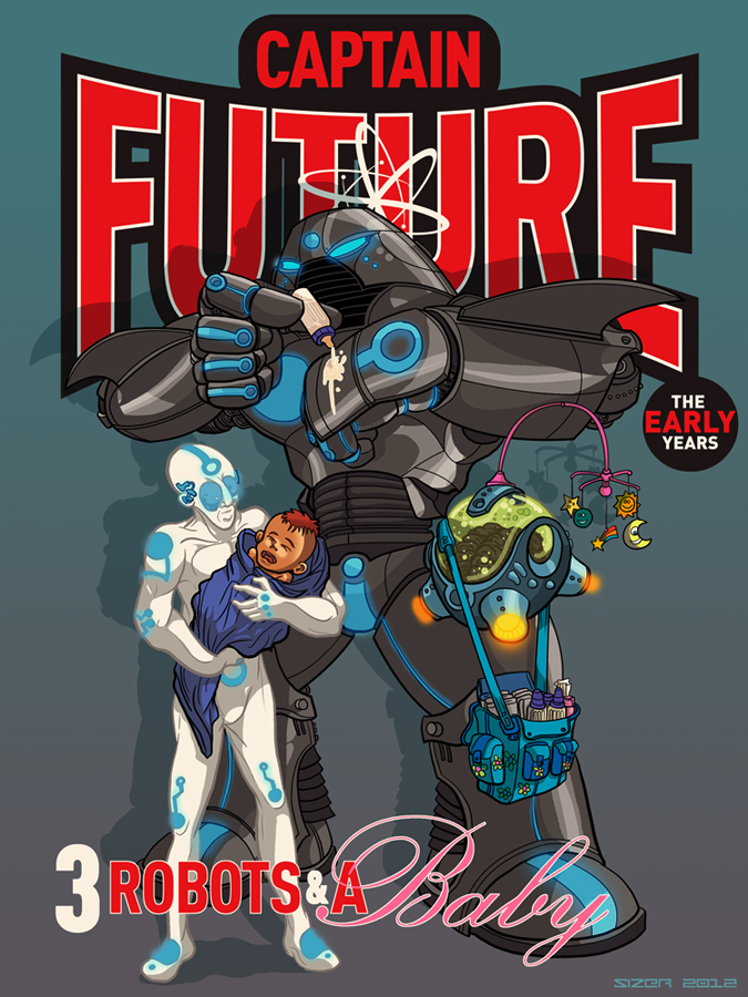 REMAKE: Captain Future 2 by PaulSizer