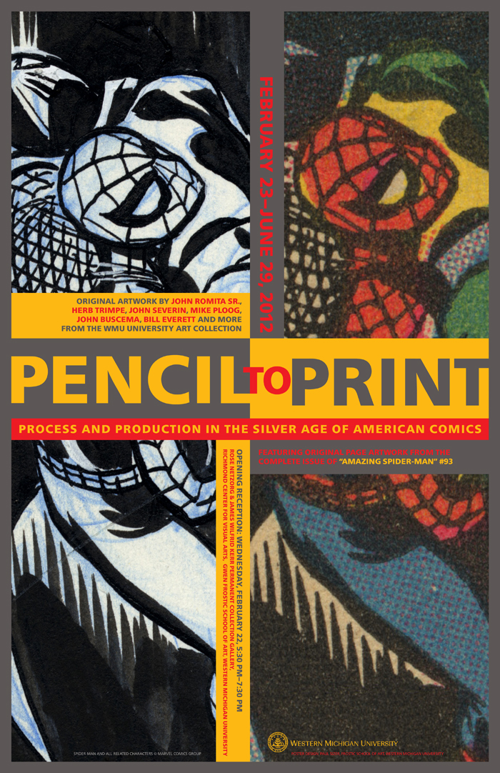 Pencil To Print Exhibit Poster by PaulSizer