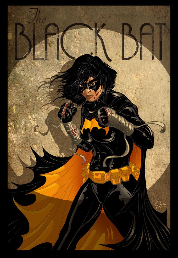 Cassandra Cain BLACK BAT Poster by PaulSizer