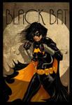 Cassandra Cain BLACK BAT Poster