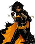 Cassandra Cain BLACK BAT Colors