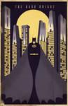 Dark Knight Deco Poster 2012