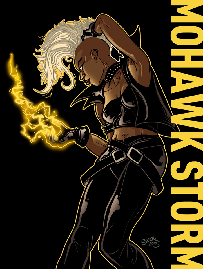 Mohawk Storm 1 By PaulSizer