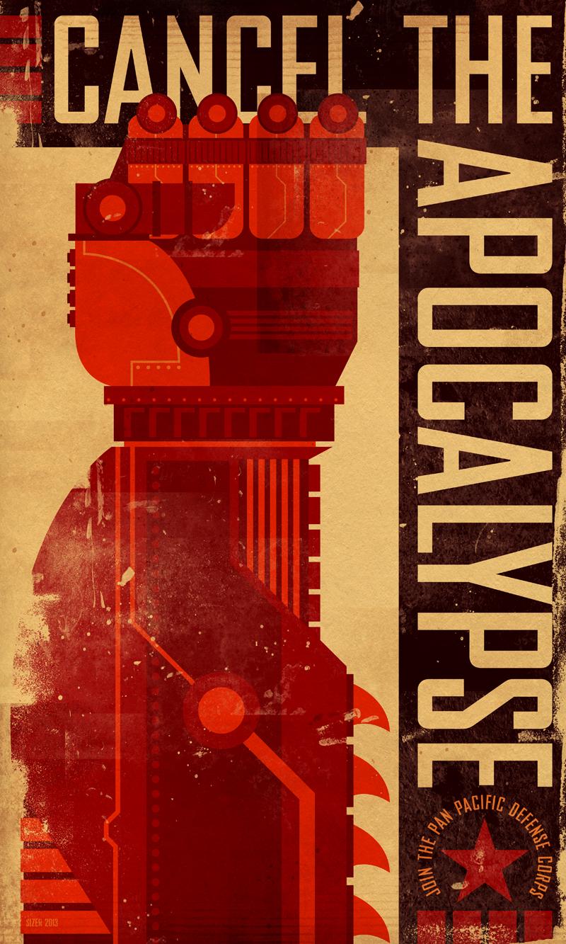 PACIFIC RIM Propaganda Poster