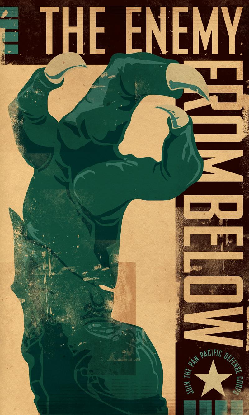PACIFIC RIM Propaganda Poster 2 by PaulSizer