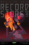 RECORD STORE DAY 2016 David Bowie Poster