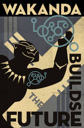 Wakanda Science Poster 2018 by PaulSizer
