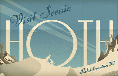 Welcome To Hoth Postcard by PaulSizer