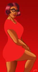 Veronika Red Dress by PaulSizer