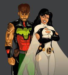 Ultra Boy and Phantom Girl