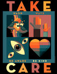 TAKE CARE Poster Free Download! by PaulSizer