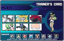 Pokemon Trainer Card by 96Alexchan