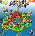 Mario RPG Map
