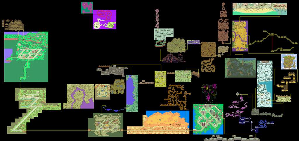 Earthbound - World Map by SilverBuller on DeviantArt